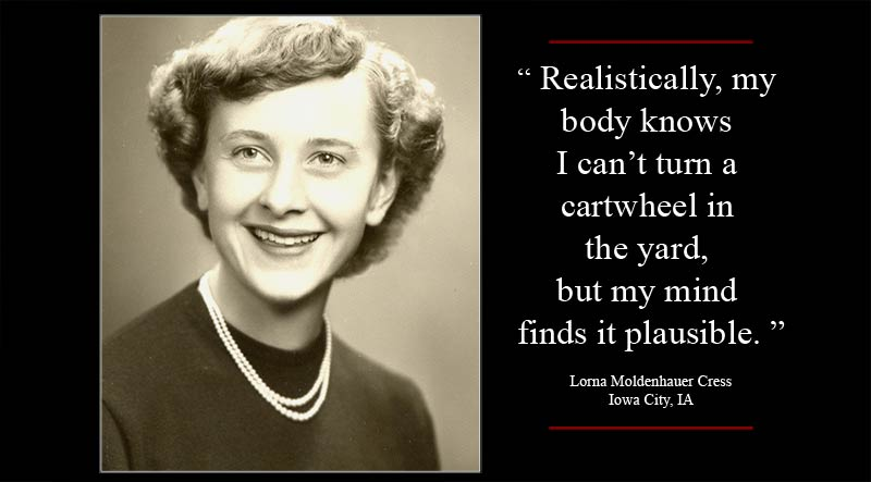 Lorna Moldenhauer Cress quote